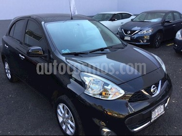 Foto venta Auto Seminuevo Nissan March MARCH ADVANCE TM (2016) color Negro precio $155,000