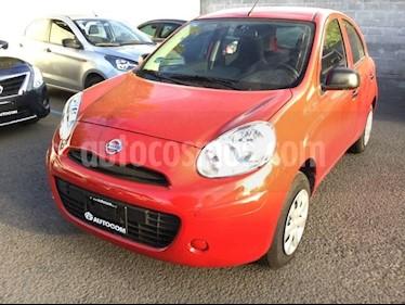 Foto venta Auto Seminuevo Nissan March MARCH AUT MA (2015) color Rojo precio $106,000