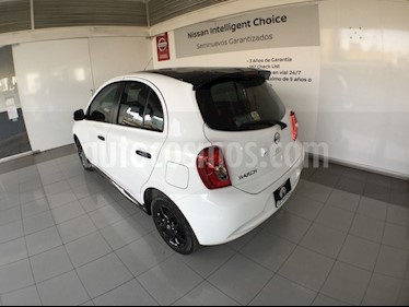 Foto venta Auto usado Nissan March MARCH EXCLUSIVE T/A 4 CIL (2019) color Blanco precio $220,000