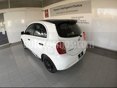 Foto venta Auto usado Nissan March MARCH EXCLUSIVE T/A 4 CIL (2019) color Blanco precio $235,000