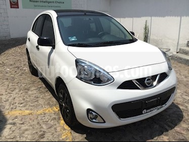 Foto venta Auto usado Nissan March MARCH EXCLUSIVE TA BI-TONO (2019) color Blanco precio $226,950