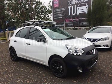 Foto Nissan March MARCH EXCLUSIVE TA BI-TONO usado (2019) color Blanco precio $252,219