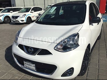 Foto Nissan March MARCH EXCLUSIVE TA BI-TONO usado (2019) color Blanco precio $239,000
