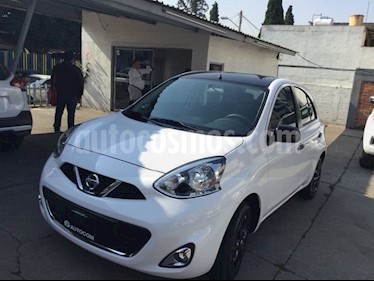 Foto venta Auto usado Nissan March MARCH EXCLUSIVE TA BI-TONO (2019) color Blanco precio $231,000