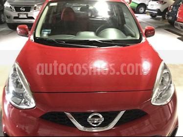 Foto venta Auto usado Nissan March MARCH SENSE TM (2015) color Rojo precio $130,000