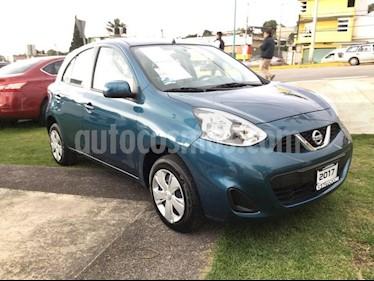 Foto venta Auto Seminuevo Nissan March MARCH SENSE TM (2017) color Turquesa precio $150,000