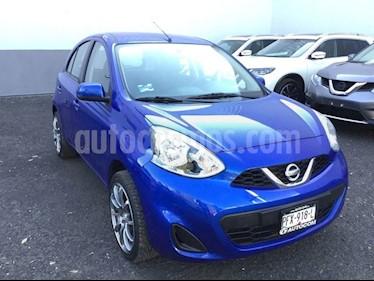 Foto venta Auto usado Nissan March MARCH SENSE TM (2017) color Azul precio $145,000