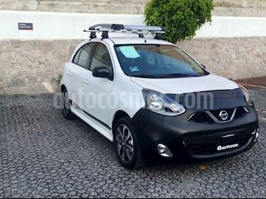 Foto venta Auto usado Nissan March MARCH SR TM NAVI (2018) color Blanco precio $230,483