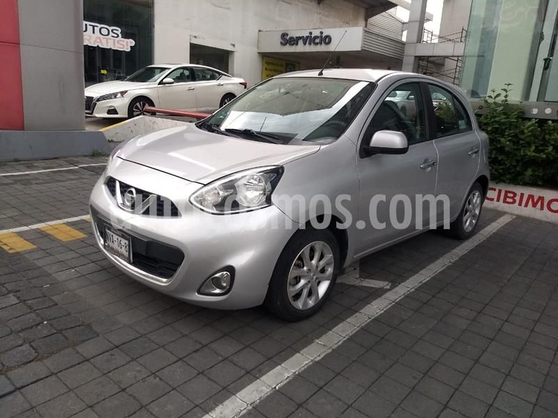 Nissan March Advance usado (2015) color Plata precio $133,000