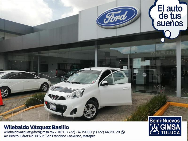 Foto Nissan March SENSE T/M usado (2020) color Blanco precio $170,000