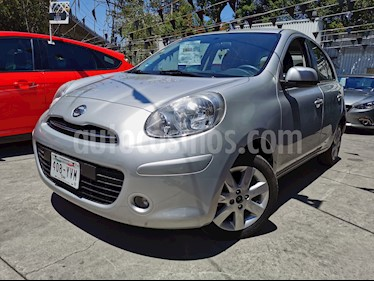 Nissan March Advance usado (2013) color Plata precio $105,000