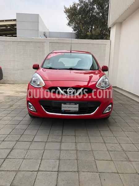 Nissan March Advance usado (2016) color Rojo precio $132,000