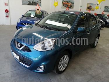Nissan March Advance usado (2018) color Azul Electrico precio $180,000