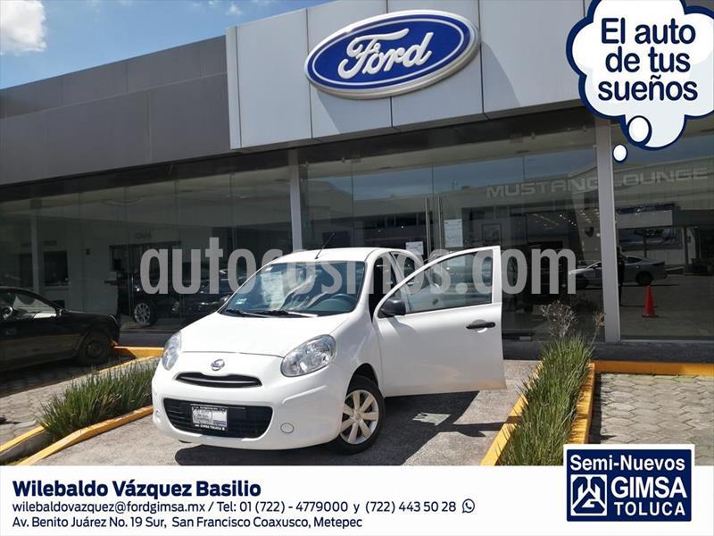 Nissan March Active Aire Ac usado (2018) color Blanco precio $119,000