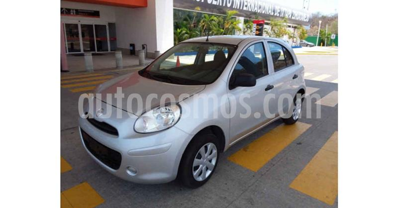 Nissan March Active Aire Ac usado (2020) color Plata precio $143,900