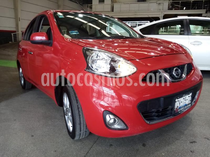 Nissan March Advance Aut usado (2017) color Rojo precio $159,000