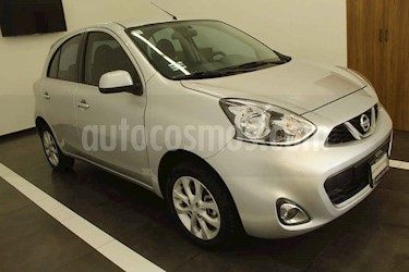 Nissan March 5p Advance L4/1.6 Aut usado (2015) color Plata precio $145,000