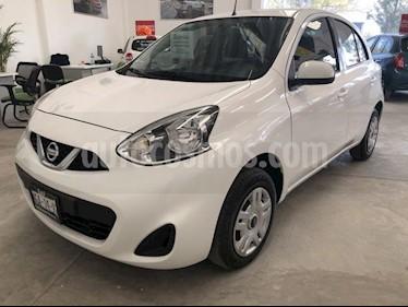 Nissan March Sense usado (2018) color Blanco precio $149,000