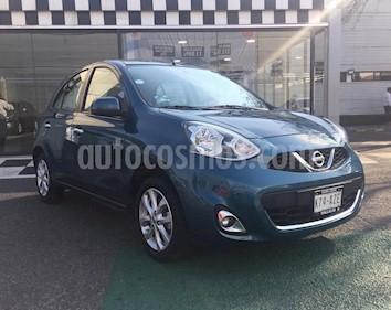 Nissan March Advance usado (2018) color Azul precio $165,000
