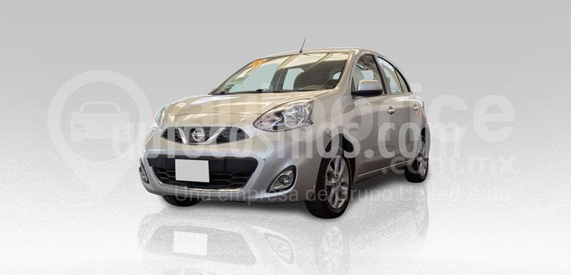Nissan March Advance usado (2018) color Plata Dorado precio $165,000