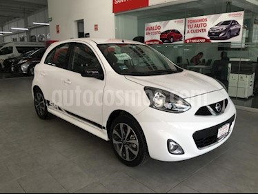 Foto Nissan March 5p SR L4/1.6 Man usado (2018) color Blanco precio $179,000
