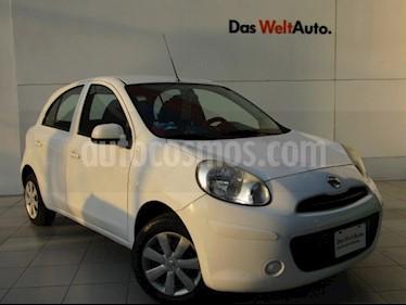 Nissan March Sense  Aut usado (2013) color Blanco precio $95,000
