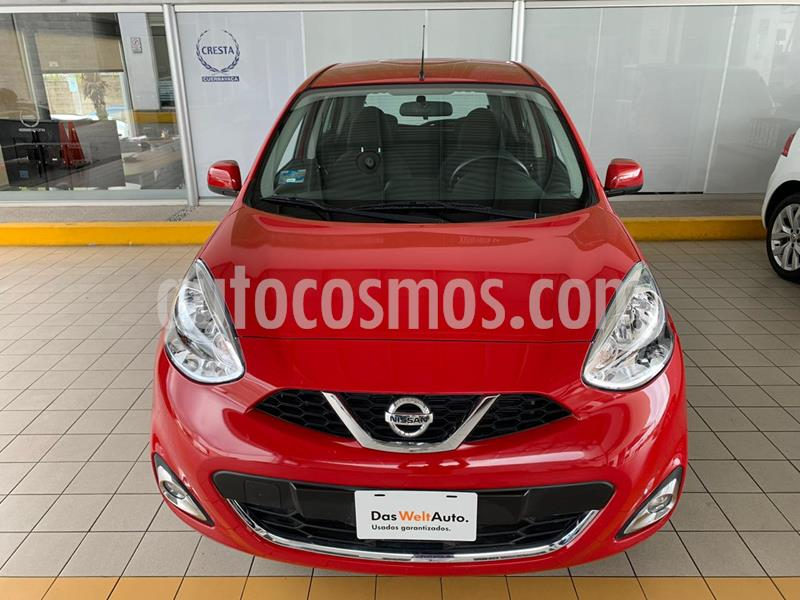 Nissan March Advance usado (2019) color Rojo precio $174,900