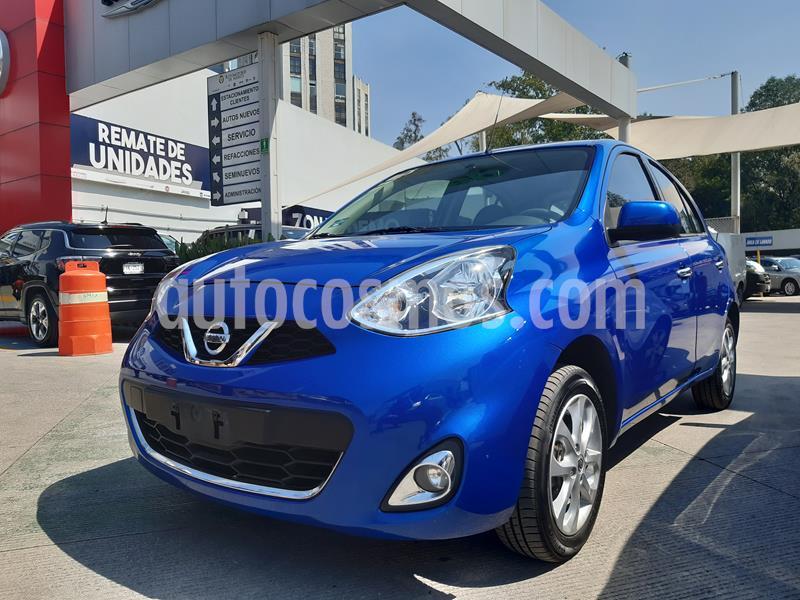 Nissan March Advance Aut usado (2018) color Azul Electrico precio $168,000