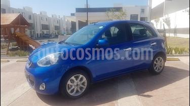 Nissan March Advance usado (2017) color Azul Electrico precio $134,500