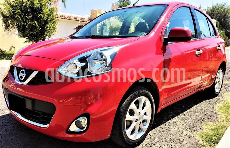 Nissan March Advance usado (2018) color Rojo precio $133,000