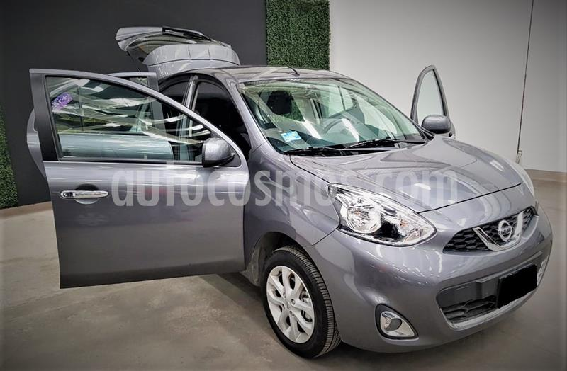 Nissan March Advance usado (2020) color Gris Oxford precio $187,999