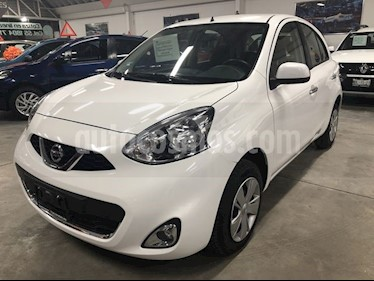 Nissan March Advance usado (2018) color Blanco precio $169,000
