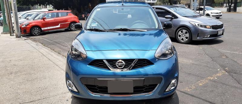 Foto Nissan March SR NAVI usado (2020) color Turquesa precio $238,000