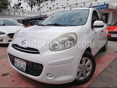 Nissan March Advance usado (2012) color Blanco precio $90,000