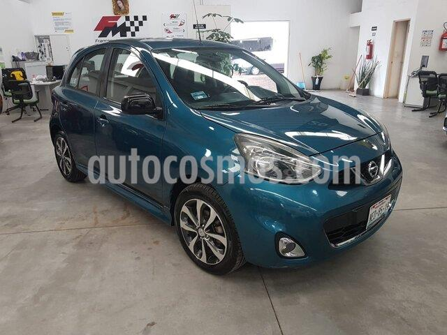Nissan March SR NAVI usado (2014) color Azul precio $119,000