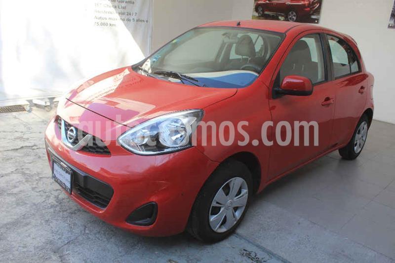 Nissan March Sense usado (2016) color Rojo precio $132,000
