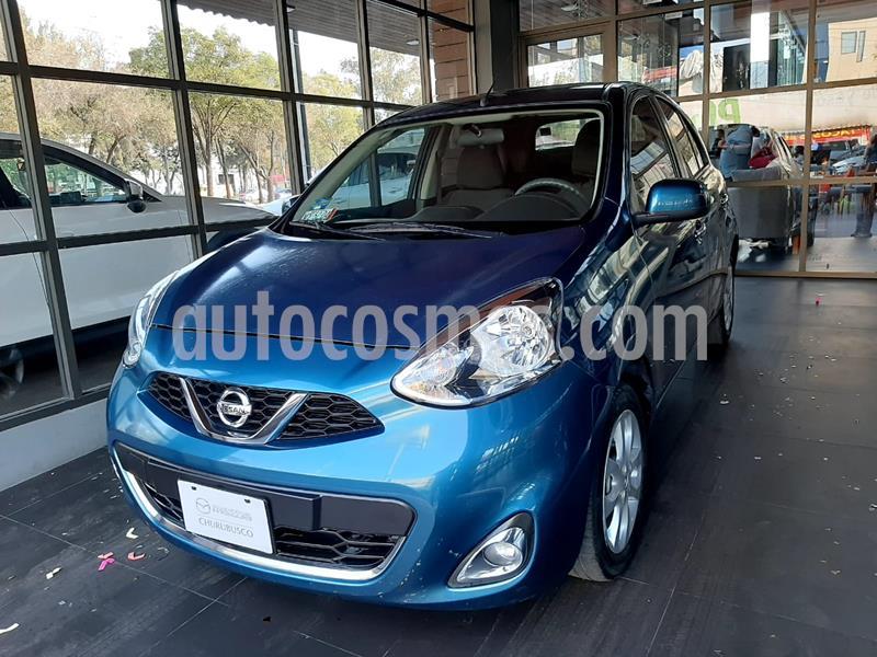 Nissan March Advance usado (2018) color Turquesa precio $160,000