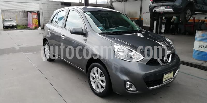 Nissan March Sense usado (2018) color Gris Oxford precio $165,000