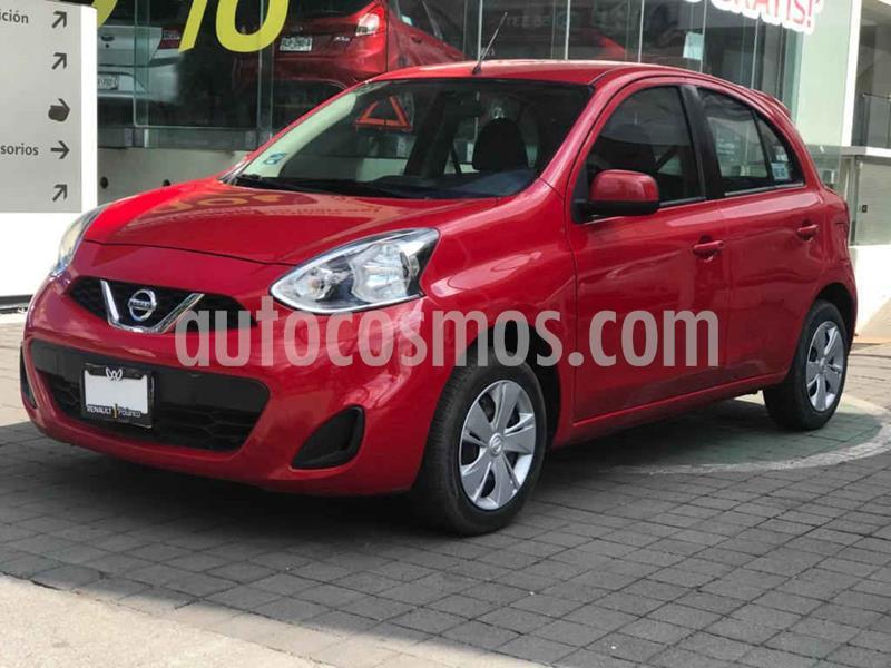 Nissan March Sense usado (2018) color Rojo precio $159,000