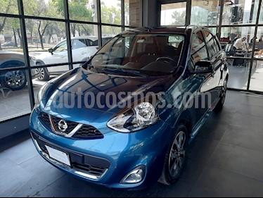 Nissan March SR NAVI usado (2016) color Azul Electrico precio $131,000