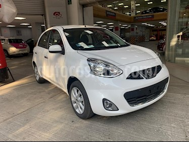 Nissan March Advance Aut usado (2019) color Blanco precio $228,200