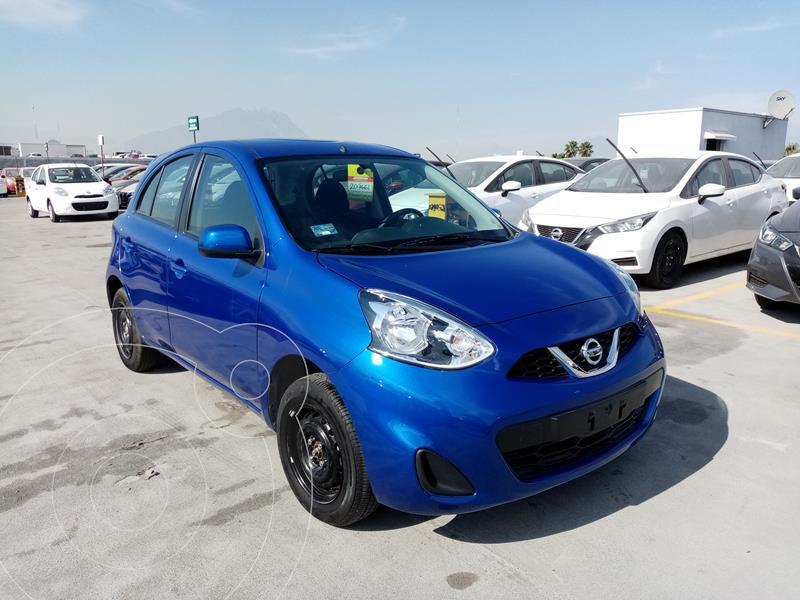 Nissan March Sense usado (2020) color Azul precio $180,000