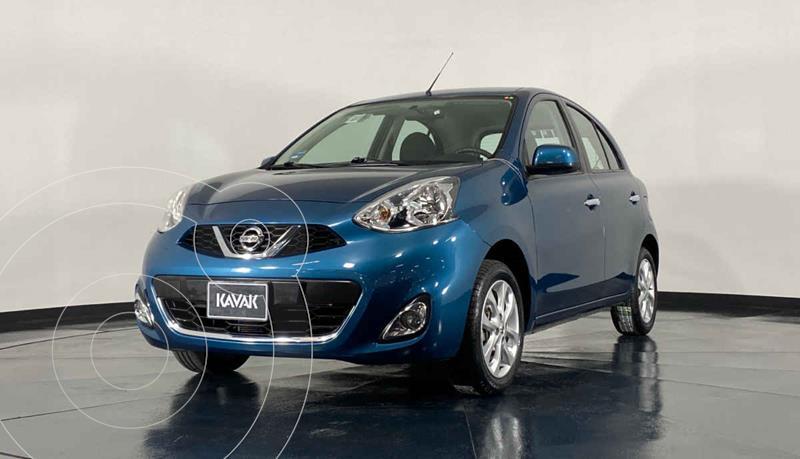 Foto Nissan March Advance Duo usado (2018) color Azul precio $179,999