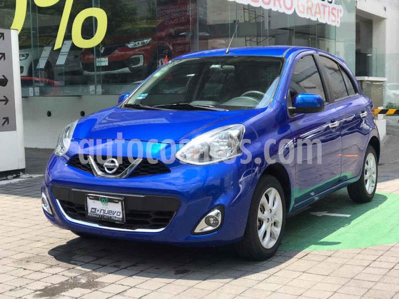 Nissan March Advance usado (2017) color Azul precio $159,000