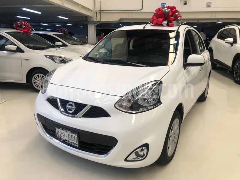 Nissan March Advance usado (2018) color Blanco precio $179,100