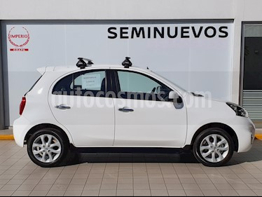 Nissan March Advance usado (2019) color Blanco precio $195,000