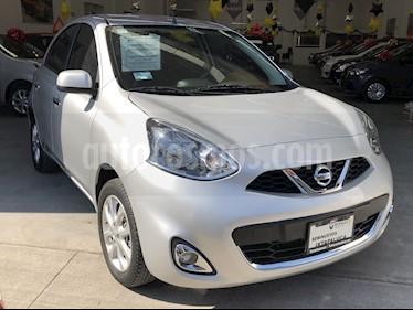 Nissan March Advance usado (2018) color Plata precio $175,000