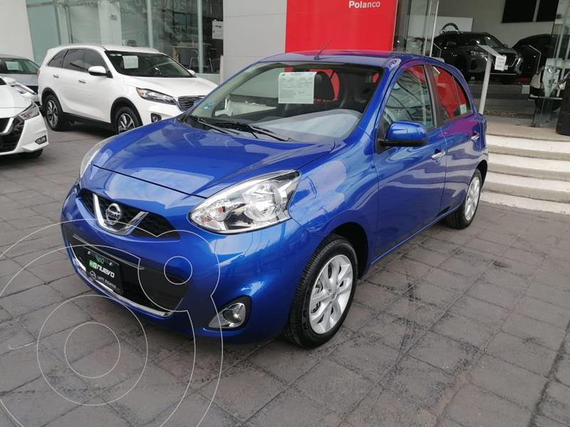 Foto Nissan March Advance usado (2020) color Azul Electrico precio $197,000