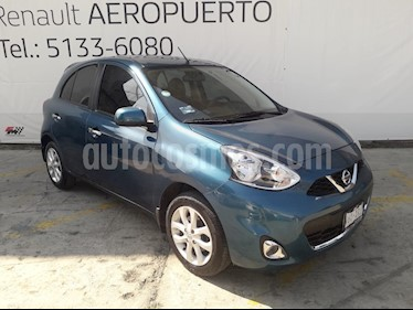 Nissan March Advance usado (2018) color Azul precio $165,000