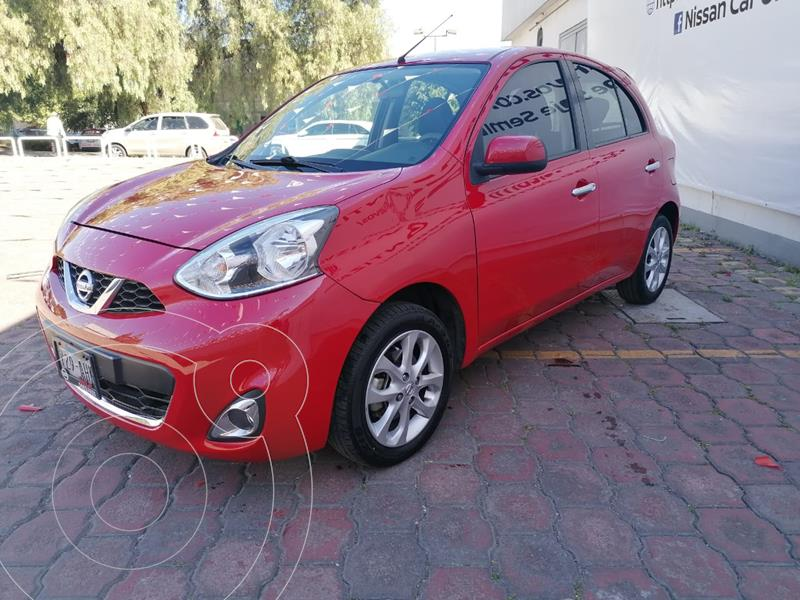 Nissan March Advance Aut usado (2016) color Rojo precio $139,900